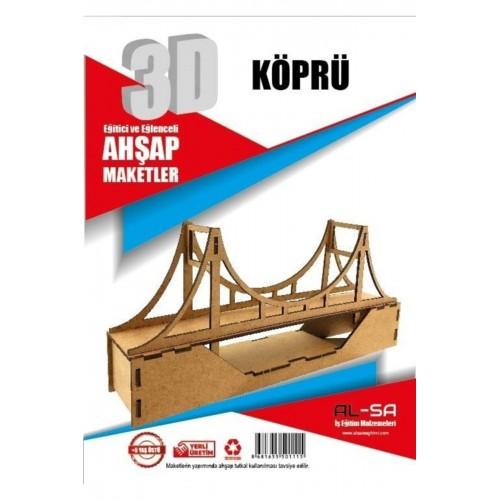 3D Köprü Maketi Eğitici ve Eğlenceli Oyuncak