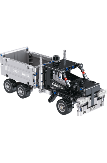 Technıc Lego Power Truck Construction Engineering 322 Pieces Toy Intelligence Enhancing Lego Toy
