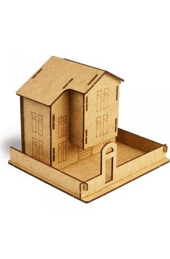 Safranbolu Ev Ahşap Eğitici Eğlenceli Puzzle Maket