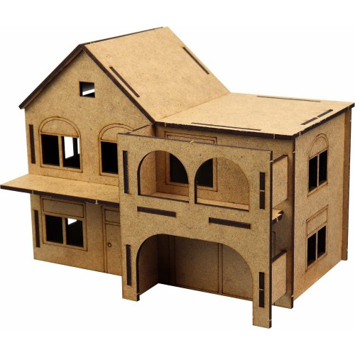 3D Wooden Model Hanging Mansion Fun Educational Puzzle Toy