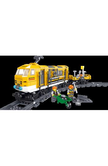 Technıc Lego Train Set and Railway Toy Intelligence Developing Lego Toy
