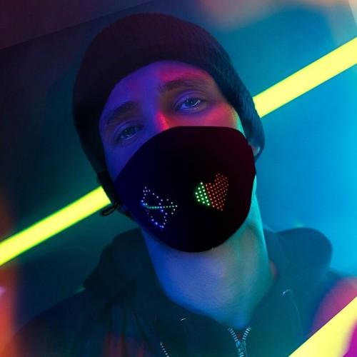 Uygulama Kontrollü Ledli Maske