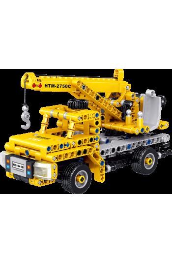 Technıc LEGO Vinç Inşaat Iş Makinesi Zeka Geliştiren Lego Oyuncak
