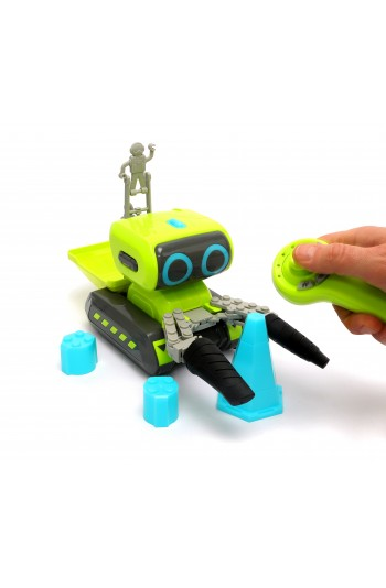 Zenkid Akıllı Inşaat Robotu / Zeka Geliştiren Eğitici Oyuncak