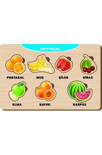 7 Parça Meyveler Puzzle