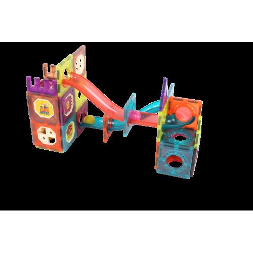 78 Parça 3D Magnet Blok Zeka Geliştirici Eğitici Oyuncak