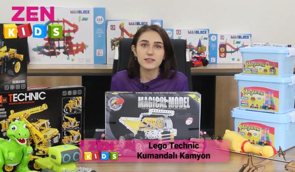 Zen Kid Lego Technic Kumandalı Kamyon