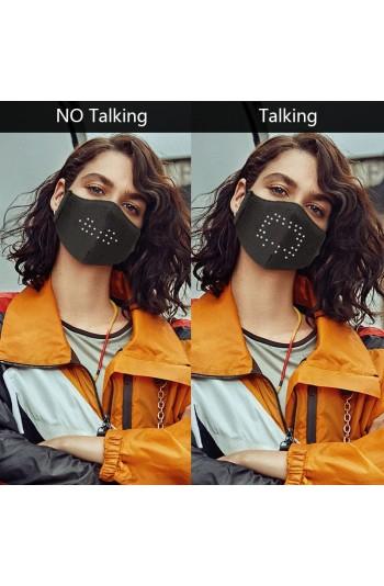 Ses Kontrollü Ledli Maske